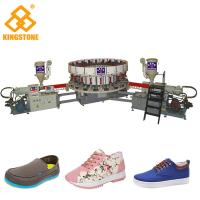 China 20 Stations Canvas Shoe Making Machine, PVC Shoes Making Machine for sport shoes on sale