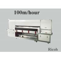 Buy cheap 1800 mm Pigment Digital Textile Printing Machine On Clothes 8 Ricoh Gen 5 from wholesalers