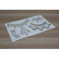 Wholesale Jewelry foil temporary tattoo from china suppliers