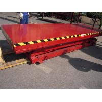 Buy cheap Stationary Aerial Scissor Working Platform 1150mm Lifting Height With Large from wholesalers