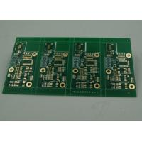 Wholesale High TG Four Layer Matt Green FR4 PCB Board Immersion Gold Finish White Silkscreen from china suppliers