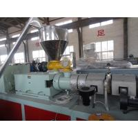 China WPC Machinery Wood Plastic Extrusion Lines For Indoor Decration Material on sale