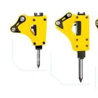 Wholesale Enlarge Piston Mini Excavator Attachments , Stone Crusher Machine High Precision from china suppliers