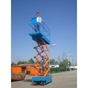 Self-propelled scissor hydraulic elevating platform for sale