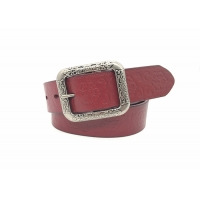 Wholesale Retro Embossed 3.5mm Leather Casual Male Belts from china suppliers