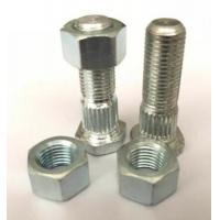 China Carbon Steel Zinc Plated Heavy Hex Nuts Cross Head Screw High Strength for sale