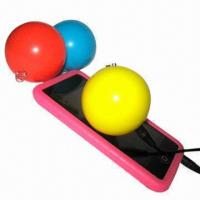 Wholesale Micro-speakers for MP3/iPod/Mobile Phone/PC, Ball Shape, Built-in Rechargeable Battery from china suppliers