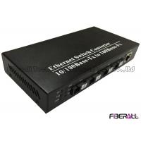 Buy cheap Fast Ethernet Convergent Fiber Switch With 4 Single Fiber SC Port & 1 RJ45 Port from wholesalers