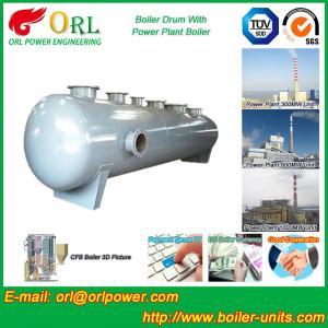 Wholesale Chemical Industry SGS Mud Drum In Boiler , Custom High Pressure Drum from china suppliers