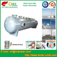 Wholesale Stainless Steel Boiler Mud Drum , Boiler Steam Drum SGS High Efficiency from china suppliers