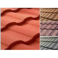 Buy cheap Roman Wind & Corrosion Resistance Stone Chips Coated Metal Roof Tiles/Roof Sheet from wholesalers
