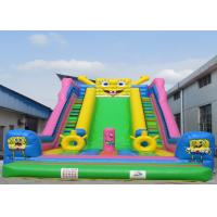Wholesale Spongebob Squarepants Lovely Huge Inflatable Slide Convenient Use from china suppliers
