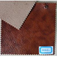 Wholesale Thickness 1.1mm PU Leather Cloth Embossed Patern for Sofa, Furniture from china suppliers