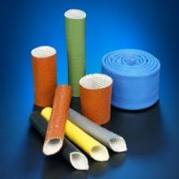 China Silicone Rubber Coated Fiberglass Sleeving on sale