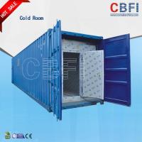 Wholesale Color Steel Panels Sliding Door Container Cold Room -18 - -25 For Fish And Meat from china suppliers