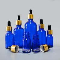 Wholesale frosted amber blue clear and green glass dropper bottle 30 ml for essential oil from china suppliers