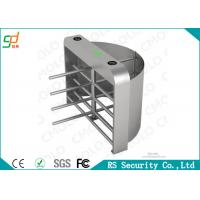 Quality RFID Card Reader Fingerprint Turnstile Full Height 304 Stainless Steel for sale