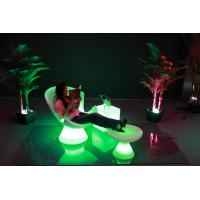 Wholesale Luxury Outdoor Swimming Pool led Lounge chari /PE chair from china suppliers