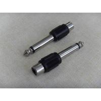 Wholesale 6.35MM mono plug/male to RCA Jack/female from china suppliers
