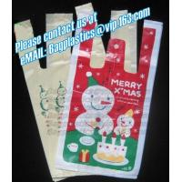 Wholesale Christmas bag, t shirt bag, carry out bags, handy, handle bags, carrier bags, tesco, China from china suppliers