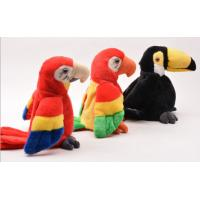 Wholesale Educational Interactive Talking Plush Toys Musical Parrot For Festival from china suppliers