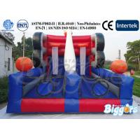 China Portable Basketball Hoop Inflatable Sports Games waterproof Amusement on sale