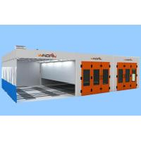Quality Preparation Area, Painting Spraying And Dry Portable Large Spray Booth With Back for sale