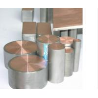 Wholesale ASTM B348 Titanium & Copper Alloy Bar Titanium Clad Copper for Electron from china suppliers