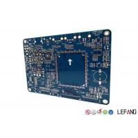 Buy cheap Circuit Board Industrial PCB 6 Layers Blue Solder Mask For Semiconductor Laser from wholesalers