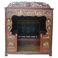 Wholesale B-041p1a Chinese furniture, antique marriage room bed, bedroom furnishing from china suppliers