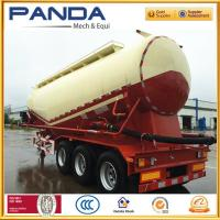 Buy cheap 3 Axle 40m3 55m3 60m3 70ton bulk cement tanker truck trailer for sale from wholesalers
