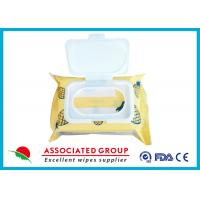 Buy cheap Ultra Soft Facial Makeup Remover Wet Wipes with Pineapple Formulation from wholesalers