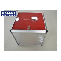 Wholesale SGS Standard Custom Size Acrylic Ballot Box Rectangular Eco - Friendly Material from china suppliers