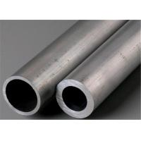 China Hot Rolled Stainless Steel Round Tube / Straight Welded 316Ti Seamless Steel Tube for sale