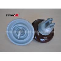 Wholesale ANSI 52-1 Porcelain Suspension Insulator Anti Fog OEM / ODM Available from china suppliers