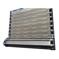 Wholesale Customized SS 304 Chain Plate Wire Mesh Conveyor Belt For Machinery from china suppliers