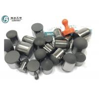 China Flat Face PDC cutter manufatuers / Pcd Tips For Pdc Drill Bit Size 0808 1010 1313 1618 on sale
