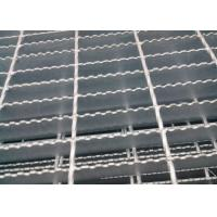 Wholesale Welded Serrated Steel Bar Grating , Various Size Heavy Duty Bar Grating from china suppliers
