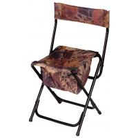 Buy cheap Folds Flat High-Back Chair,  Steel Hunting Seats And Chairs With Attached Shoulder Strap from wholesalers