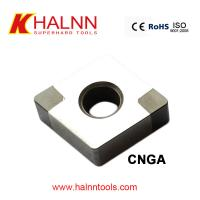 Halnn BN-H11 PCBN insert Hard Turning Gear after heat treatment with continuous condition for sale