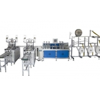 Wholesale Aluminum Alloy KN95 Nonwoven Fabric Earloop Mask Machine from china suppliers