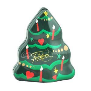 Buy cheap Tree shaped Christmas irregular matal storage tin box chocolate gift packaging box from wholesalers