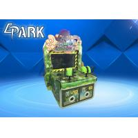 China The Monster Comes Gun Shooting Push Coin Game Machine / Video Game Vending Machine on sale