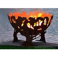 Wholesale Fashionable Design Corten Steel Fire Pit Bowl Superior Corrosion Resistance from china suppliers