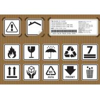 Wholesale Non Toxic Logistic Labels , Waterproof Design Shipping Address Label from china suppliers