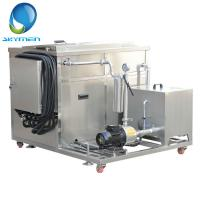 China Metallic Parts Degreasing Industrial Ultrasonic Cleaner 3.6KW With Oil Seperator on sale