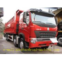Wholesale 60T Sinotruck Howo A7 Heavy Duty Dump Truck 8x4 12 tires EuroII  371hp LHD from china suppliers