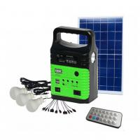 Buy cheap 10W Portable Solar Home System Lighting Kit Bluetooth Speaker Solar Indoor Home from wholesalers