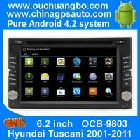 Wholesale Ouchuangbo DVD Radio Stereo 3G Wifi BT for Hyundai Tuscani 2001-2011 GPS Navigation Android 4.2 System OCB-9803 from china suppliers