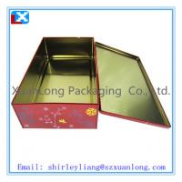Wholesale Flat rectangular biscuit tin box from china suppliers